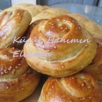 Fırında Tahin Helvalı Çörek