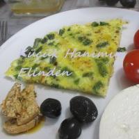 Taze Fasulyeli Omlet