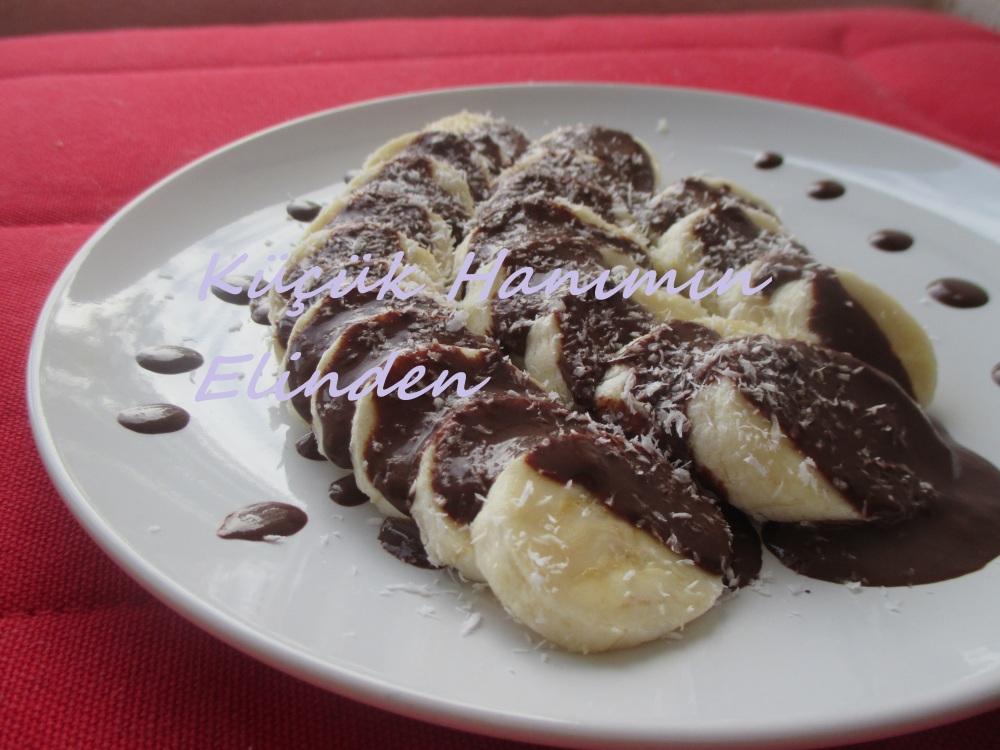 Çikolata Soslu Muz