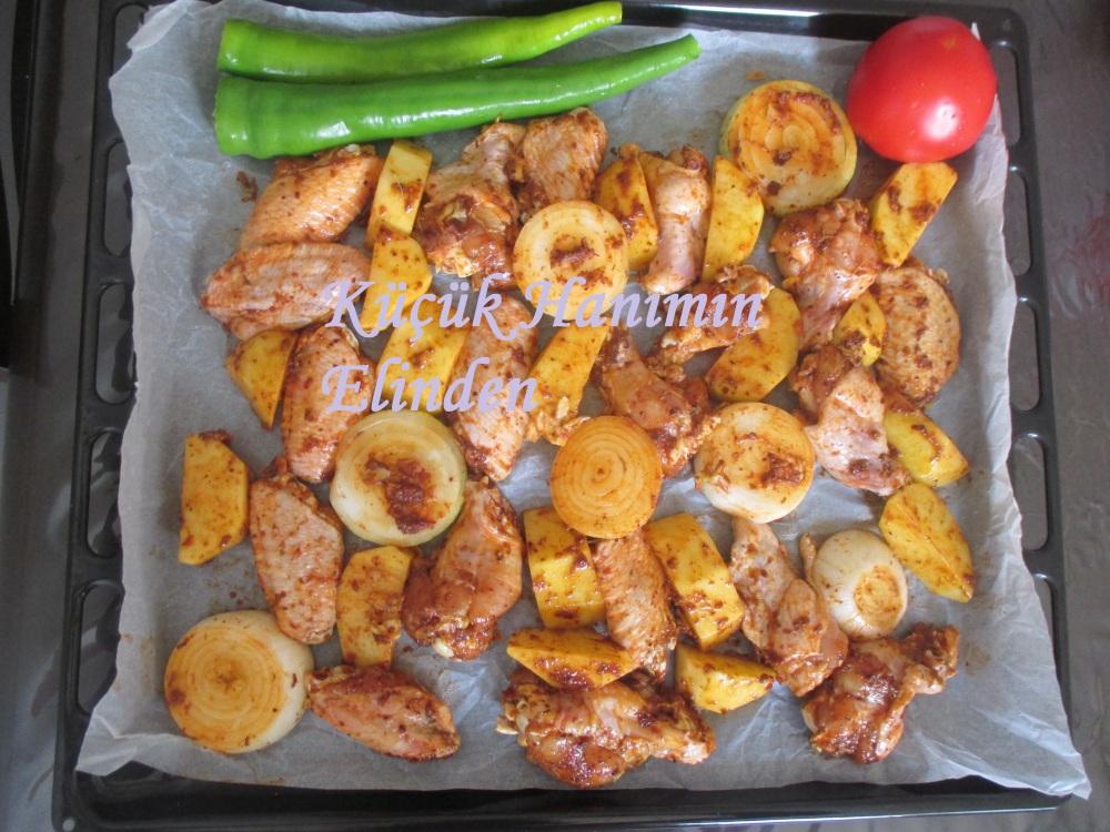 Fırında Tavuk Kanat
